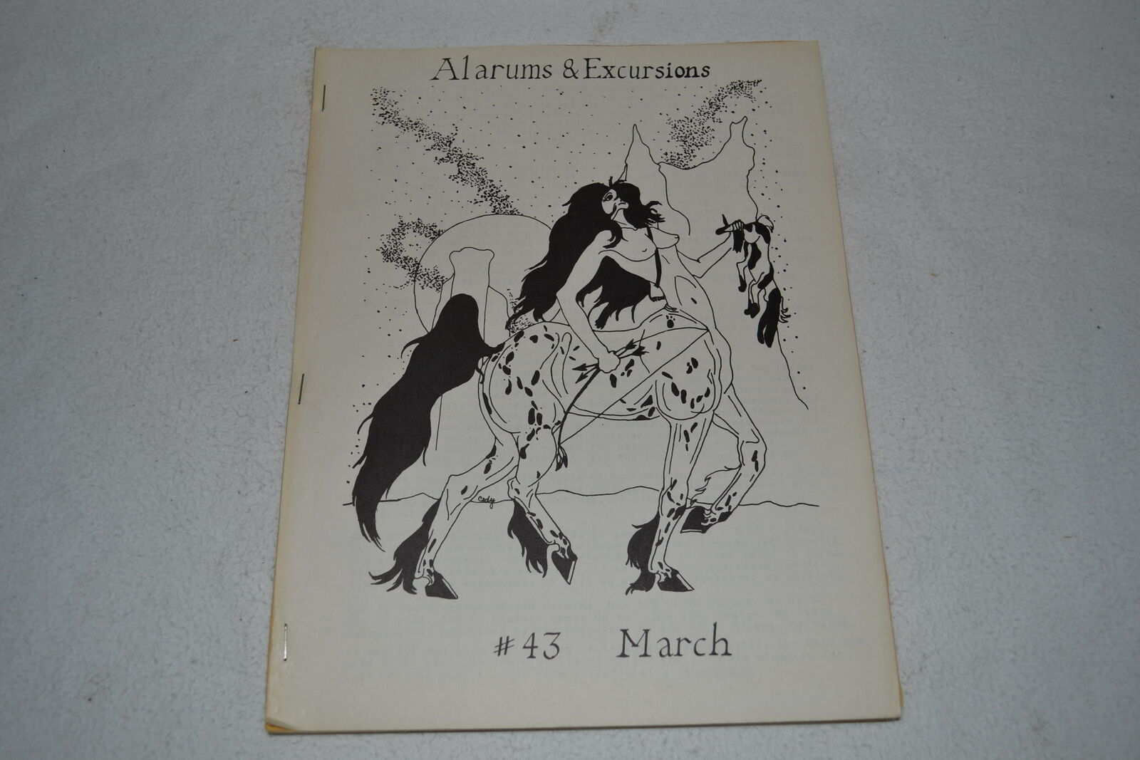 Alarums & Excursions March 1979 AD&D Bushido Runequest C&S RPG Game Magazine