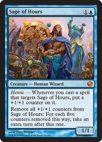 Sage of Hours NM-Mint MTG Journey into Nyx English magic