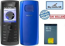 New Condition Nokia X1-01 Dual Sim Blue & Black Unlocked Mobile Phone Brand GSM