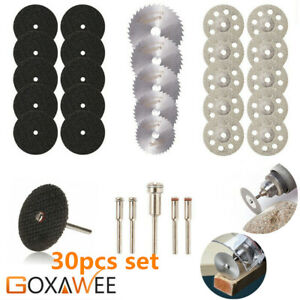 30Pcs-set-Diamond-Cutting-Disc-Saw-Blade-Grinding-Wheel-Set-Rotary-Tool-Circular