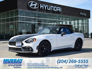 2017 Fiat 124 Spider Abarth Convertible Luxury Collection