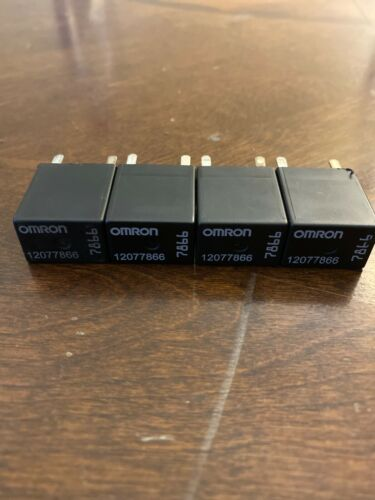 12077866 Multifunction relay,5 pin Used 4PK Omron 7866 GMC Chevy