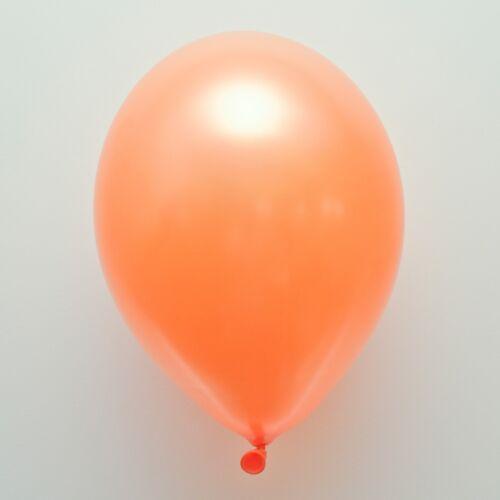 "25 X ORANGE 12/"" METALLIC HELIUM QUALITY BALLOONS,PARTY,BIRTHDAY,DECORATION"