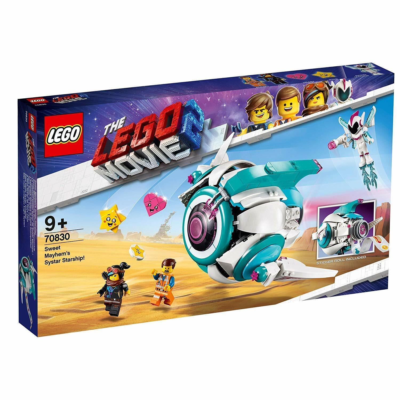 Lego Película 70830 - Nave Systar de Dulce Caos - NUEVO