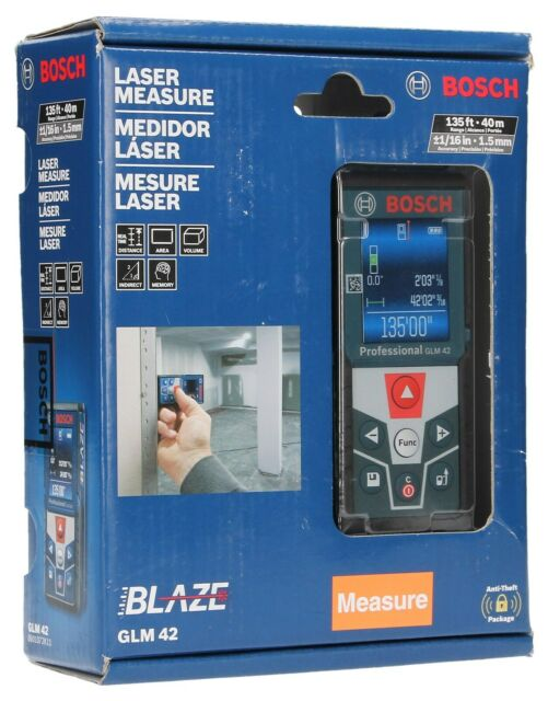 BOSCH GLM 42 BLAZE 135 FT Indoor Laser Distance Measurer - NEW