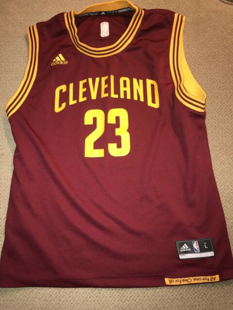 Cleveland Cavaliers Lebron James Original Jersey Youth Boys L Road Adidas 201c97f4d
