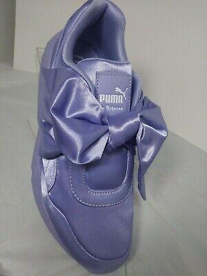 NEW! Puma X Fenty by Rihanna Women's Sweet Lavender Satin Bow Sneaker IN Box 8M 190275349185 | eBay