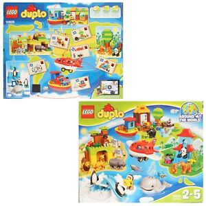 Lego-Duplo-10805-une-fois-pour-Monde-Avion-Animaux-Monde-des-Animaux