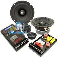 Cdt Audio Hd-42 4 2-way High-definition Car Component Speakers Set With Drt-25