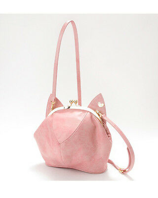 Cat head shape Lolita Pink Cross Body Handbag Satchel Messenger Box Bag