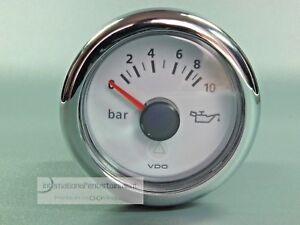 VDO-MARINE-OLDRUCKANZEIGER-OEL-10-bar-INSTRUMENT-12V-24-V-OIL-PRESSURE-GAUGE