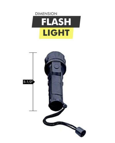 Barton Outdoors Bulk Led Flashlights Set 24 Piece