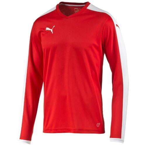 Puma Pitch Langarm Fußball Trainingsshirt Fitness Sport Herren Kinder 702088
