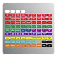 Magnetic Labels for Yamaha 02R96 / 01V96i / DM-1000 / DM-2000 / 03D mixers