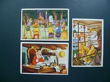 chromos kaarten prenten images : Chocolat Meurisse chocolade Don Quichotte cards