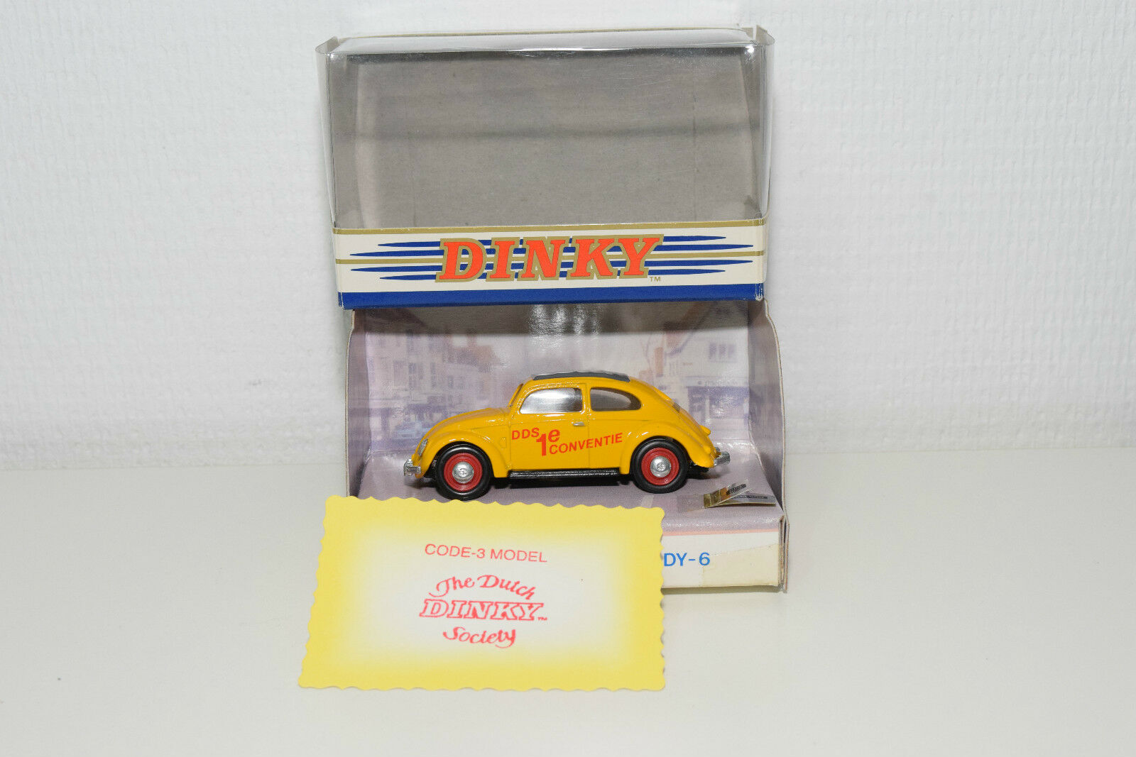 DINKY MATCHBOX VW VOLKSWAGEN BEETLE KAFER THE DUTCH DINKY SOCIETY MINT BOXED