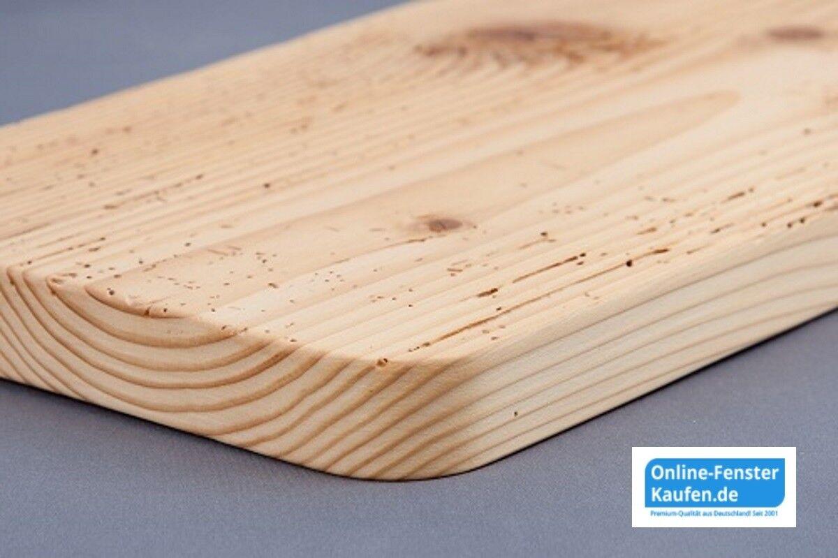 (99,70€/m) Fensterbank Holz Altholz gewachst massiv 20 cm tief 80 - 84 cm lang
