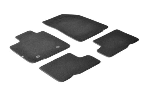 09//08/>12//12 TAILORED CARPET CAR MATS SET -  DACIA SA BLACK DACIA SANDERO