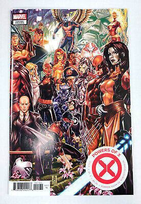 Marvel Comics 2019  1:25 Stefanie Hans Variant of 6 Powers of X #1