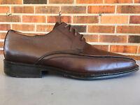 Johnston & Murphy Harding Panel Lace-Up Men's Shoes Sz 8 M Brown Oxford 20-6460