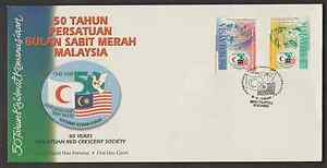 F223-MALAYSIA-1998-RED-CRESCENT-SOCIETY-FDC
