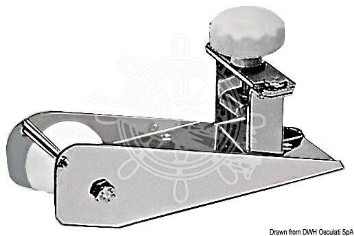 Osculati Bugrolle mit Arretierung AISI 316 210 x 57 mm