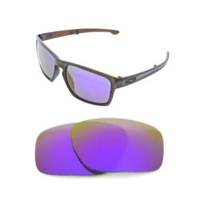 Image is loading NEW-POLARIZED-PURPLE-REPLACEMENT-LENS-FOR-OAKLEY-SLIVER- 6ac24207b8e6