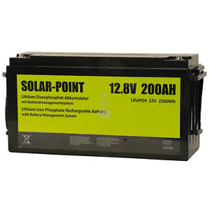 XENES-ECO-Line-12V-200Ah-LiFePO4-BMS-Lithium-Eisenphosphat-Versorgungs-Batterie