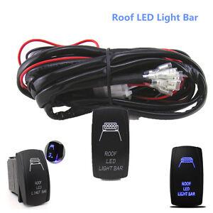 12v-Interruttore-ON-OFF-Controllo-Cablaggio-KIT-relay-per-tetto-barra-luminosa-a-LED-40-AM