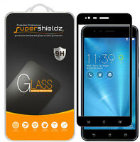 2x Supershieldz Asus Zenfone 3 Zoom Full Cover Tempered Glass Screen Protector