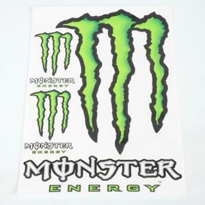 Details Zu Brett 6 Aufkleber Sticker Monster Energy Grün Weiß Deko Rollermotorrad