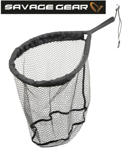 Angelkescher Savage Gear Pro Finezze Rubbermesh Net 40x50x50cm Watkescher