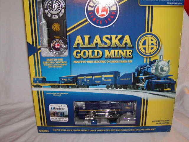 Lionel 6 -83701 Alaska guld Mine Freight Train Set blåtooth O 027 New 2017 MIB