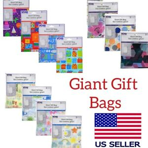 Image Is Loading Giant Gift Bags Set Of 1 Bag