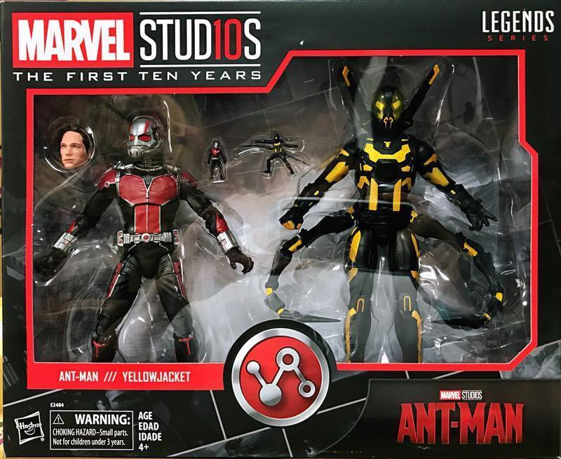 [] giocattoli Hero in uomoo Marvel leggende antuomo & gituttio Jacket 10th Anniversario NUOVO