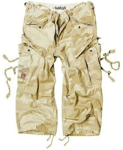 Pantalones cortos de ingeniero de longitud 3//4 nos Armada cargamento Tormenta del Desierto