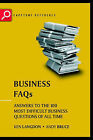 Business FAQs: Answers to the 100 Most  Difficult Business Questions of All Time by Andrew Bruce, Ken Langdon (Paperback, 2002)
