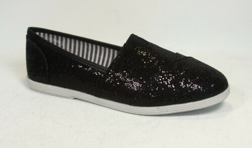 Youth Girls Kids Cute Causal Slip On Flat Heel Round Toe Color Shoes Size 9-4