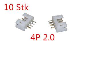 10-Stk-4P-2-0-XH-180-Stecker-Buchsen-Kupplung