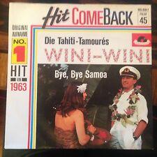 7'Tahiti-Tamoures >Wini-Wini/Bye,Bye Samoa<  50's SCHLAGER GOLD!HIT COMEBACK