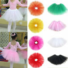 Mini Girls Kids Ballet Tutu Dress Dance Wear Costume Party Skirt Candy Color New