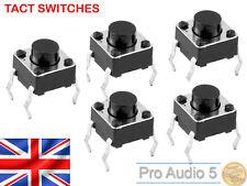10x Akai MPC Tactile Switch for 1000, 2000, 2000XL, 4000 - Tact Swith - 10pcs UK
