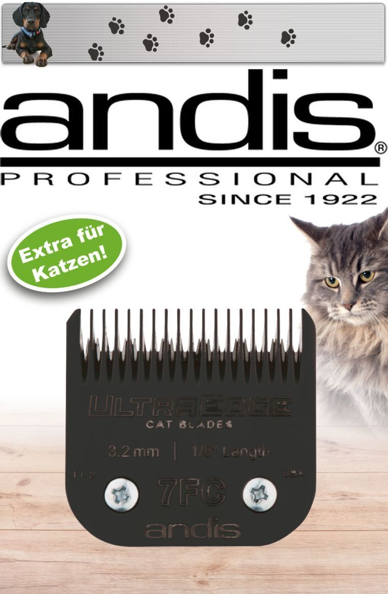 Andis Ultra Edge Cats Shaving Head Size 7FC 3,2 mm AESCULAP- Moser - Choice -