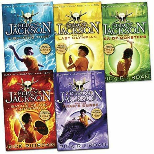 various pack of books for kids famous 5 secret 7 Percy jackson fairy tales new