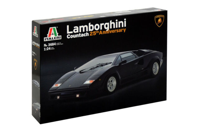 Italeri Lamborghini Countach 25th Anniversary In 1 24 3684 St For