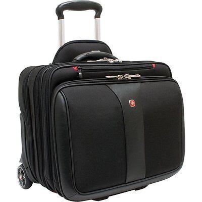 Wenger Swissgear Patriot 2 pc Wheeled Computer Laptop Carrying Case WA-7953-02F0