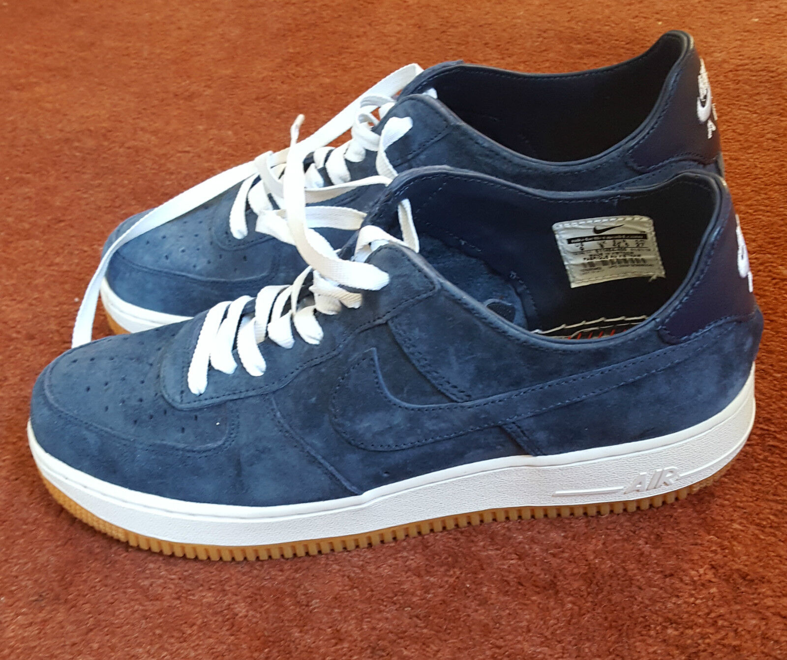 Nike Force 1 bajo luz Air Premium Entrenadores One One One UK8 US9 283022