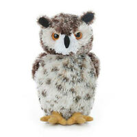 Aurora World Plush - Mini Flopsie - Osmond The Great Horned Owl (7.5 Inch) -