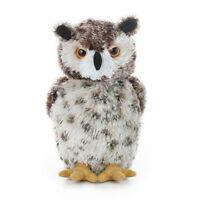 Aurora World Plush - Mini Flopsie - Osmond The Great Horned Owl (7.5 Inch) -