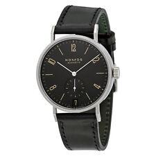 Nomos Tangomat Ruthenium Datum Deep Black Dial Mens Watch 604